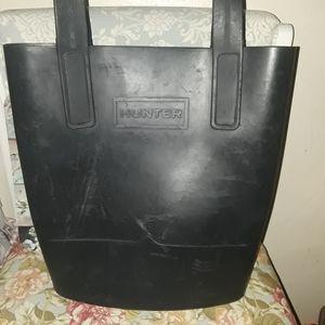 Hunter Brand rubber tote Bag